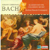 Bach: Chamber Music / Berliner Barock-Compagney