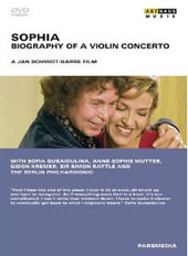 Sophia - Biography of a Violin Concerto / A Film by Jan Schmidt-Garre [DVD]