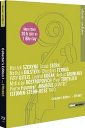 Classic Archive Collectors Edition: Strings / 17+ hours of documentaries & concerts by Szeryng, Stern, Milstein, Gitlis, Grumiaux, Fornier, Kogan et al. [Blu-Ray]