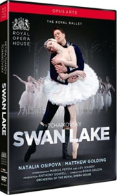 Tchaikovsky: Swan Lake / Natalia Osipova, Matthew Golding, Gary Avis. Orch. of the Royal Ballet, Boris Gruzin [DVD]
