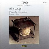 Cage. Works For Percussion: '3 Constructions. Imaginary Land