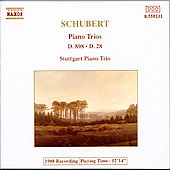 Schubert: Piano Trios Vol. 1