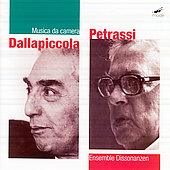 Dallapiccola, Pereassi: Musica da camera