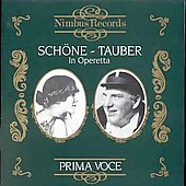 Prima Voce - Lotte Sch&ouml;ne and Richard Tauber in Operetta