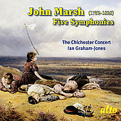 Marsh: Five Symphonies / Graham-Jones, Chichester Concert