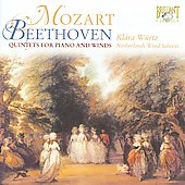 Mozart, Beethoven: Quintets for Piano & Winds / Klára Würtz, Netherlands Wind Ensemble