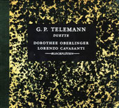 Telemann: Duette / Dorothee Oberlinger, Lorenzo Cavasanti