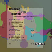 Canadian String Quartets - Morawetz, Somers, Glick / Orford String Quartet, Purcell String Quartet