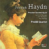 Haydn: Prussian Quartets Op 50 / Praz&aacute;k Quartet