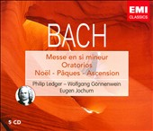 Bach: Oratorio de No&#235;l; Oratorio de P&#226;ques; Oratorio de l'Anscension; Messe en si mineur [Box Set]