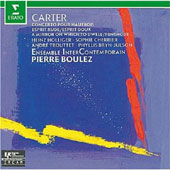 Elliott Carter: Oboe Concerto; Esprit Rude/Esprit Doux; A Mirror on which to Dwell; Etc.