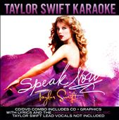 Karaoke: Speak Now: Taylor Swift Karaoke [CD/DVD]