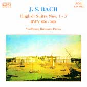 Bach: English Suites no 1-3 / Wolfgang Rübsam