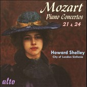 Mozart: Piano Concertos Nos. 21 & 24 / Howard Shelley, piano
