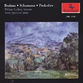 Brahms, Schumann, Prokofiev / William Ludwig, Anne Epperson
