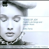 Tears of Joy: English Lute Songs and Secular Music / Zefiro Torna