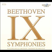 Beethoven: Symphonies, complete / Staatskapelle Dresden - Blomstedt