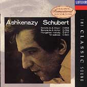 The Classic Sound - Schubert: Sonatas, etc / Ashkenazy