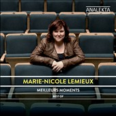Marie-Nicole Lemieux: Meilleurs Moments - arias by vivaldi, Scarlatti, Handel and Brahms. Marie-Nicole Lemieux, contralto