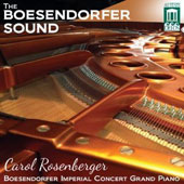 The Boesendorfer Sound / Carol Rosenberger, piano