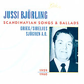 Jussi Björling Sings Scandanavian Songs and Ballads