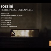 Rossini: Petite Messe Solennelle / Julia Lezhneva, Delphone Galou, Michael Spyres, Alexander Vinogradov. Accentus; Paris CO