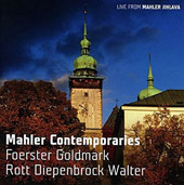Mahler Contemporaries - songs by Wolf, Viardot, Rott, Strauss, Schönberg, Bruno Walter, Foerster / sung by winners of the Karlsbad International Singing Competition (rec. live, 2014)