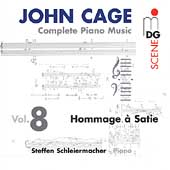 SCENE  Cage: Complete Piano Music Vol 8 / S. Schleiermacher