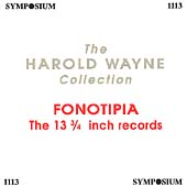 The Harold Wayne Collection Vol 13 - Fonotipia