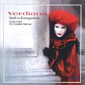 Verdiana - Verdi in Arrangements / Carola Guber, et al