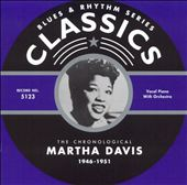 Martha Davis: The Chronological Martha Davis 1946-1951 *