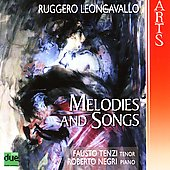 Melodies and Songs - Leoncavallo / Tenzi, Negri, et al