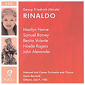 Handel: Rinaldo / Bernardi, Horne, Ramey, Alexander, et al
