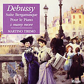 Debussy: Suite bergamasque, etc / Martino Tirimo