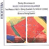 Shostakovich: Music for String Quartet / Eleonora Quartet