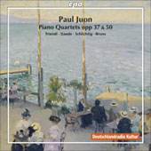 Juon: Piano Quartets Op 50 & 37 / Triendl, Gaede, Schlichtig, Bruns