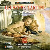 Tartini: The Violin Concertos Vol 15
