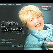 Great Operatic Arias Vol 2 / Brewer, Parry, Philharmonia Orchestra, et al
