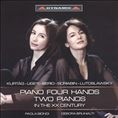 Piano Four Hands: Two Pianos in the XX Century