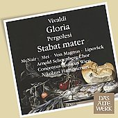 Vivaldi: Gloria; Pergolesi: Stabat Mater