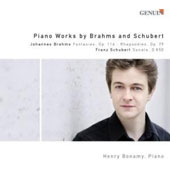 Piano Works By Brahms & Schubet