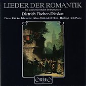 Romantic Lieder / Dietrich Fischer-Dieskau, Dieter Kl&#246;cker