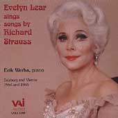 Evelyn Lear Sings Songs by Richard Strauss / Erik Werba