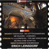 Erich Leinsdorf Conducts Wagner Strauss & Korsakov / Philharmonia Orch.
