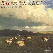 Bax: Nonet, Oboe Quintet, Elegiac Trio, etc / Nash Ensemble
