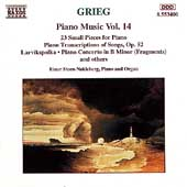 Grieg: Piano Music Vol 14 / Einar Steen-Nokleberg