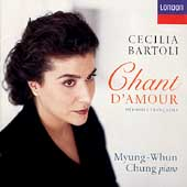 Chant d'Amour / Cecilia Bartoli, Myung-Whun Chung