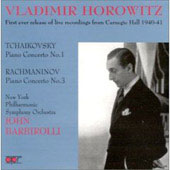 Tchaikovsky, Rachmaninoff: Piano Concertos / Horowitz