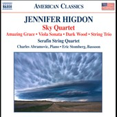 Jennifer Higdon: Sky Quartet; Amazing Grace; Sonata for Viola and Piano; Dark Wood; String Trio / Serafin Quartet