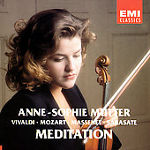 Vivaldi, et al: Works for Violin and Orchestra / Mutter
